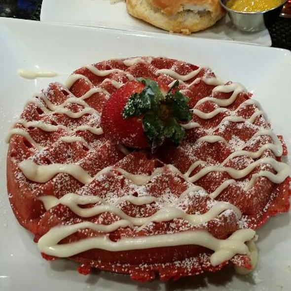 Red Velvet Waffle - Stewart Penick's Terrace - Ballantyne, NC, Charlotte, NC