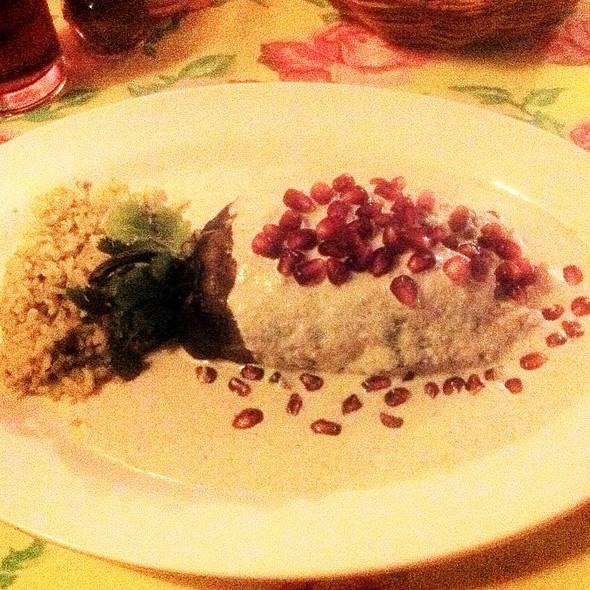 Chili En Nogada @ La Casa de Frida Restaurante
