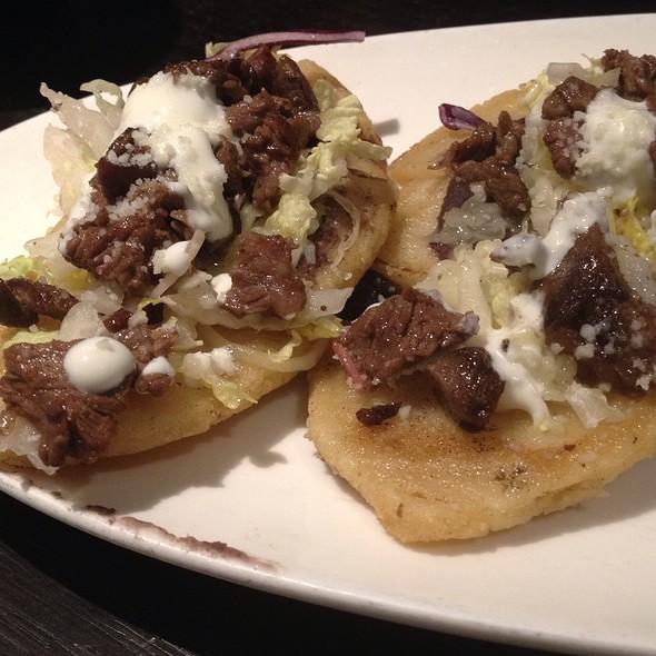 Steak Flatbread - Maya - New York, New York, NY