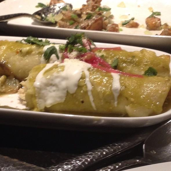 Shredded Chicken Enchilada - Maya - New York, New York, NY