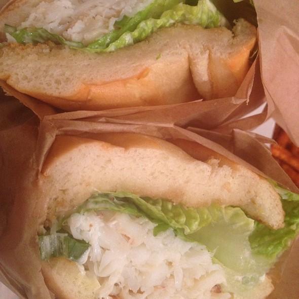 Dungeness Crab Sandwich