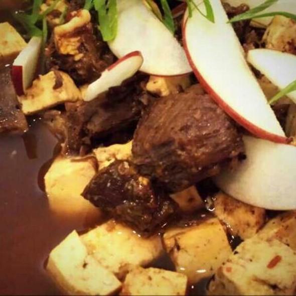 Smoked Beef Shank Doufu @ Mei Mei Restaurant