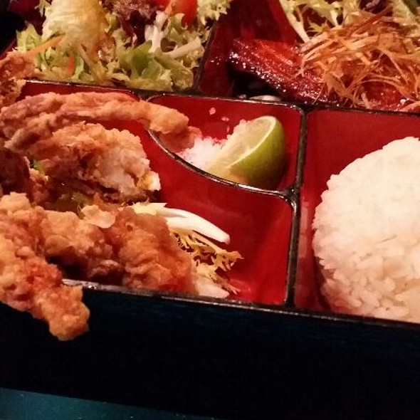Sashe Teriyaki And Soft Shell Crab