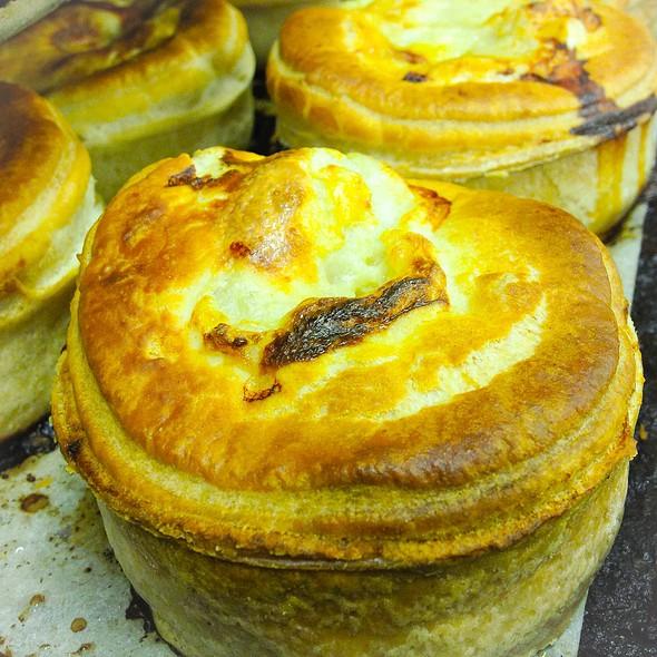 Cheese And Onion Pie @ Ackroyd's Scottish Bakery
