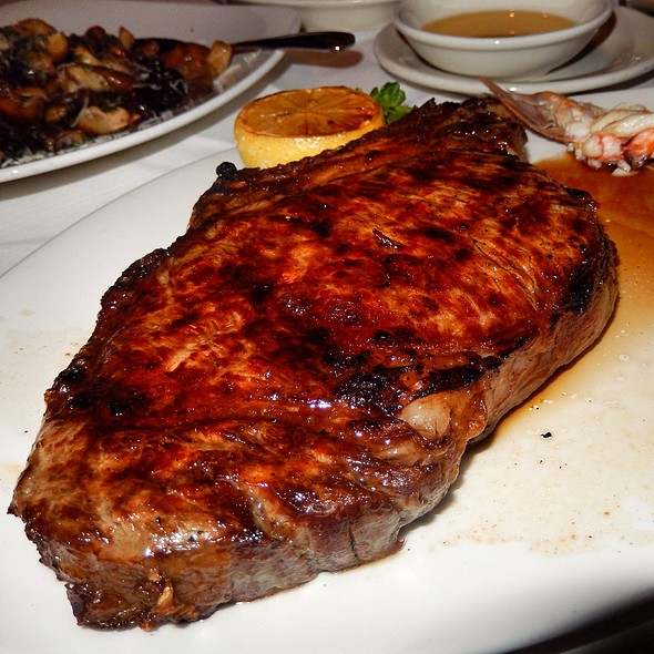Bone In Ribeye And Lobster Tail - Morton's The Steakhouse - Las Vegas, Las Vegas, NV