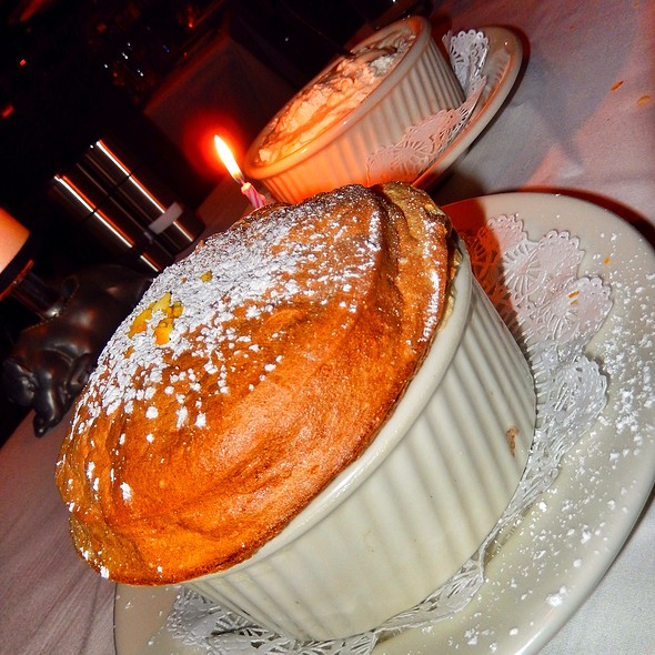 grand marnier souffle - Morton's The Steakhouse - Las Vegas, Las Vegas, NV