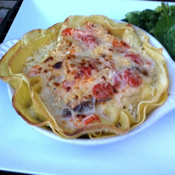 Creamy Seafood Lasagna @ Villaggio Grille