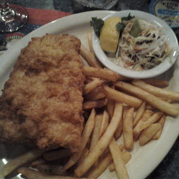 Fish & Chips @ Crow's Nest