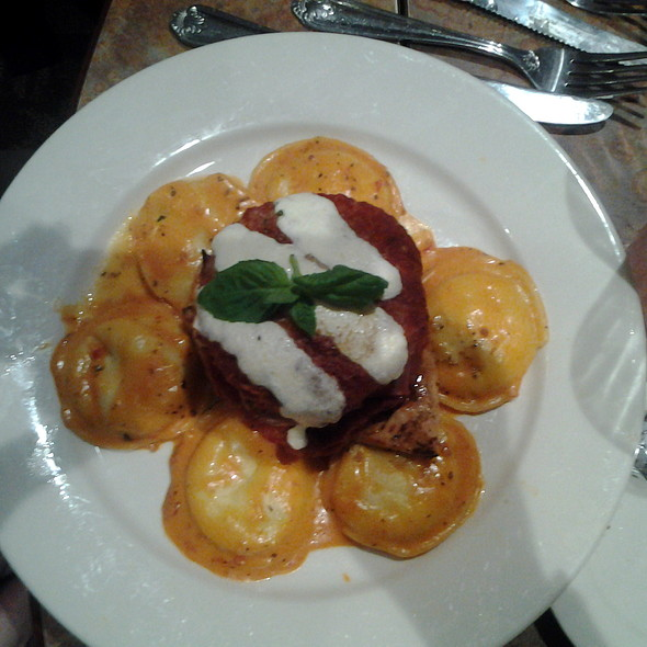 Eggplant Napoleon with Ravioli @ Luigis Gourmet Express Inc