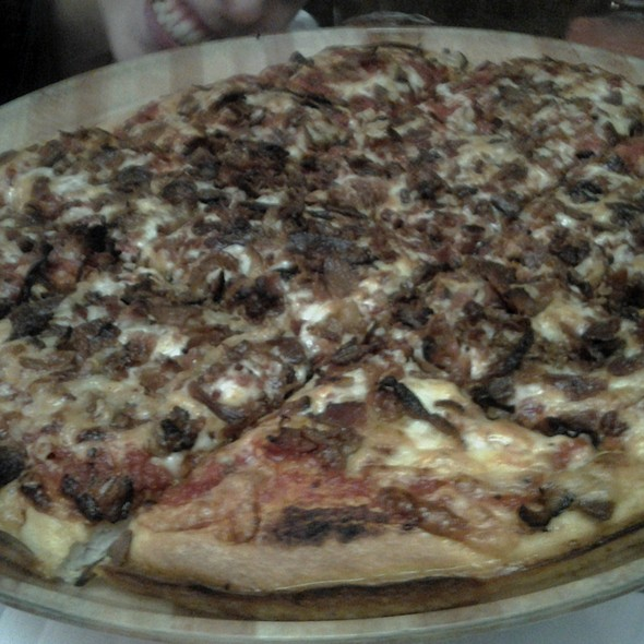 Bacon Pizza @ The Big Cheese & Pub