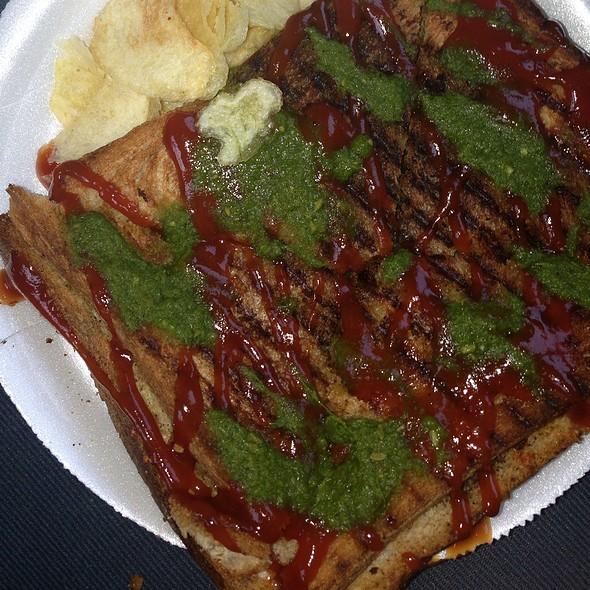 Grilled Veggie Sandwich @ Wich Please