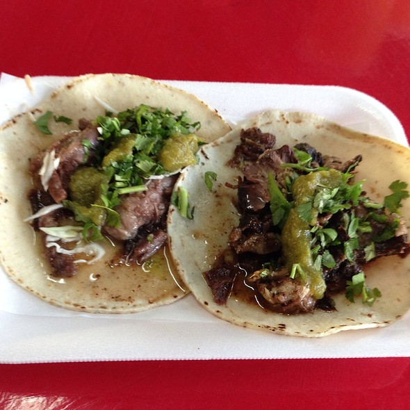 Taqueria El Chino Menu - Hermosillo, Sonora - Foodspotting
