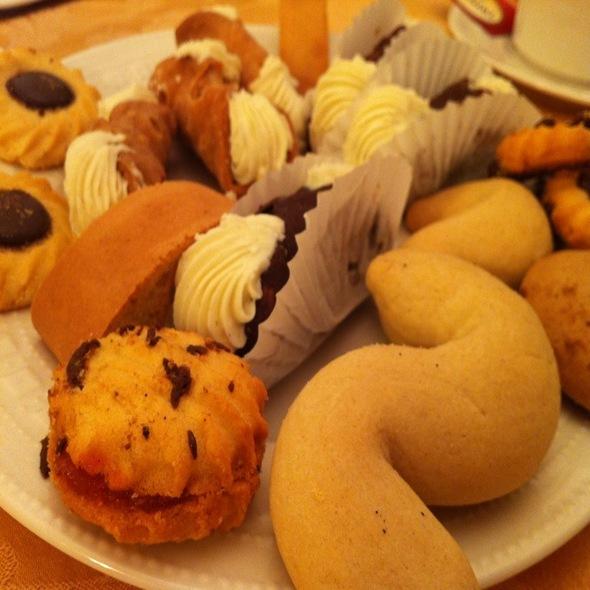 Italian Pastries @ Palombo Bakery