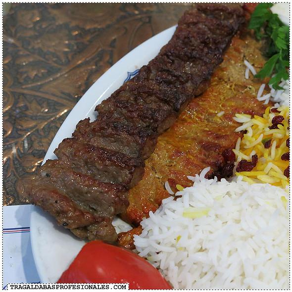Chellow kebab sultani @ Isfahani