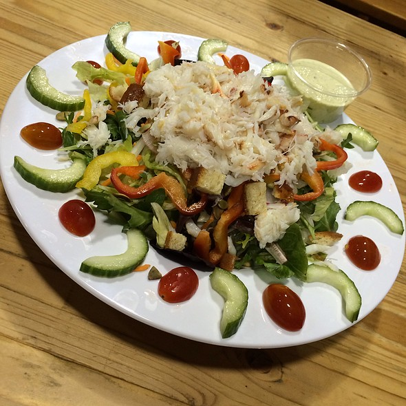 Crab Salad @ New England Lobster Market & Eatery