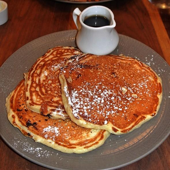 Chocolate Chip Buttermilk Pancakes - Fare Restaurant, Philadelphia, PA