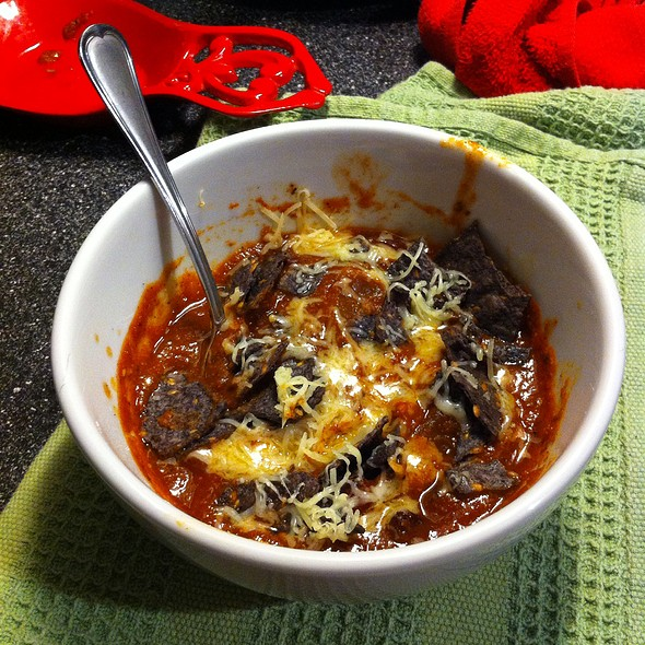 Homemade Chilli @ My Red House