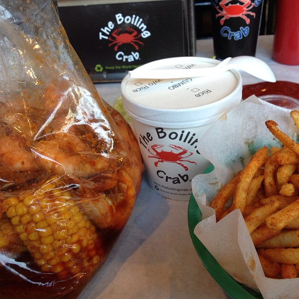Bag. Cup. Fries.