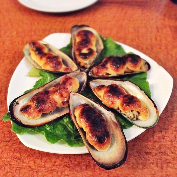 Baked Mussels