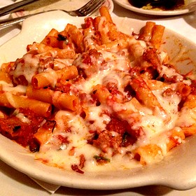 Ziti Bake With Italian Sausage And Pomodoro