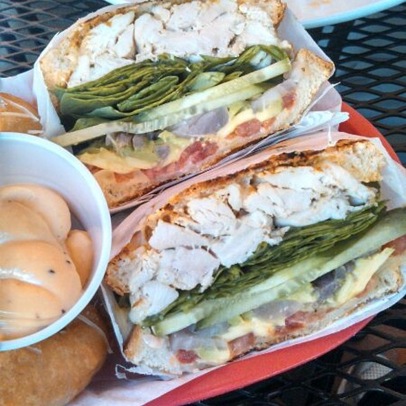 The Hot Blonde Sandwich