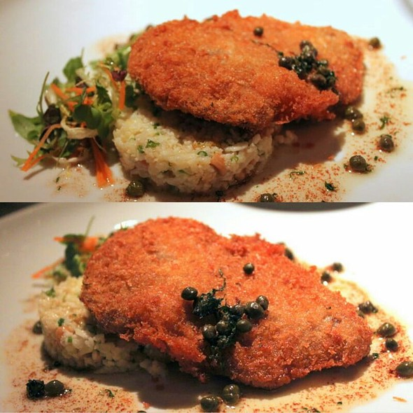 Kurabuta Cutlet @ Blue Water Cafe + Raw Bar