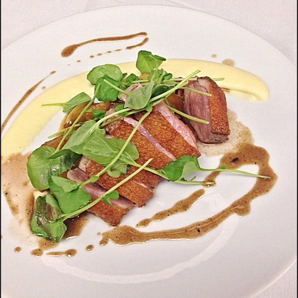 Roasted Muscovy Duck - CAST at the Viceroy, Santa Monica, CA