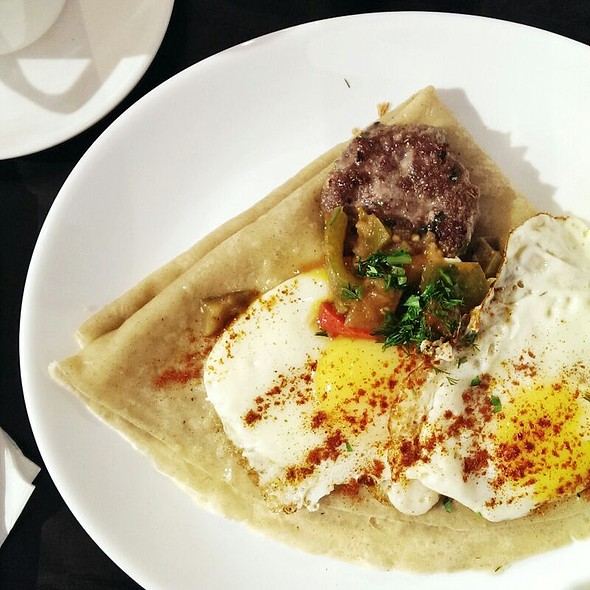 Canadian Breakfast Crepe @ Art Square Gallery & Cafe