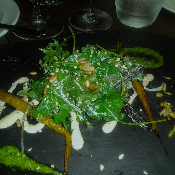 Roasted Carrot Salad @ 15 STEPS