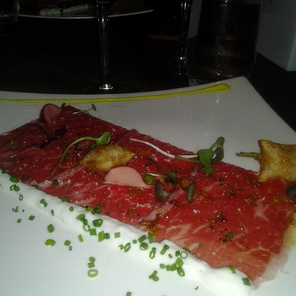 Jackman Ranch Wagyu Carpaccio @ 15 STEPS