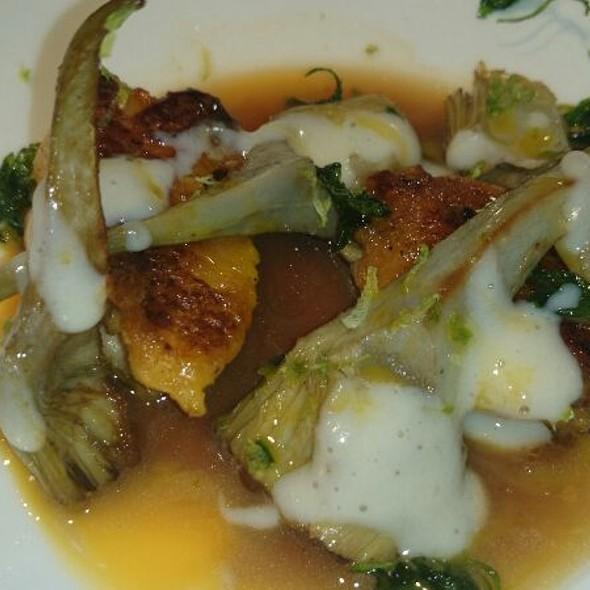 Alcachofas, Alitas Y Jugo De Asado @ Restaurante Damaso