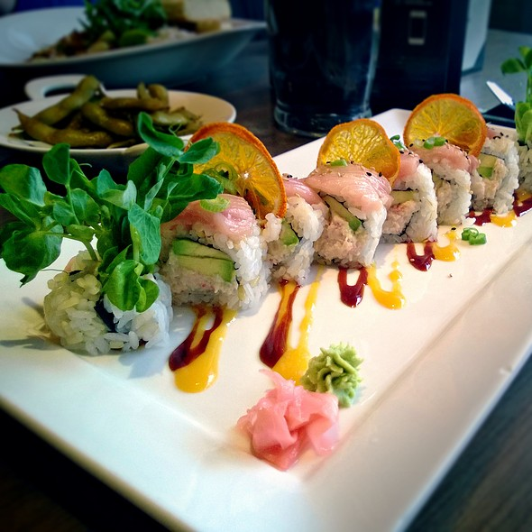 Pink Lady Roll @ Kuro Asian Cuisine