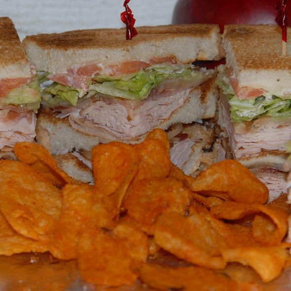 turkey club @ Max's Signature Sandwiches