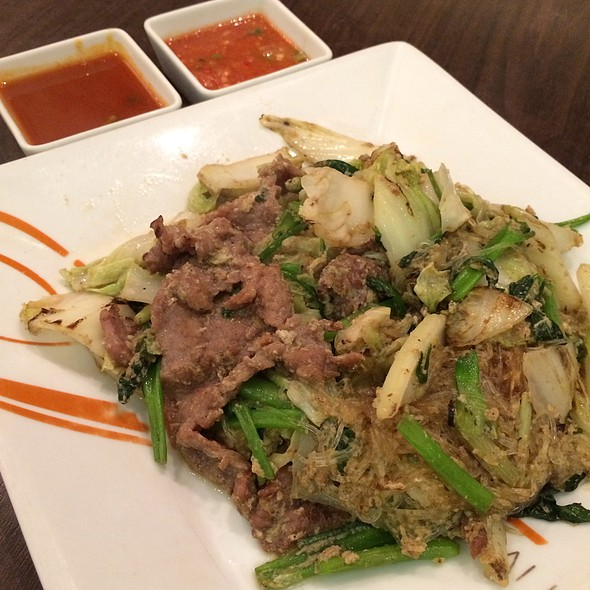Stir Fried Thai Style Suki With Beef