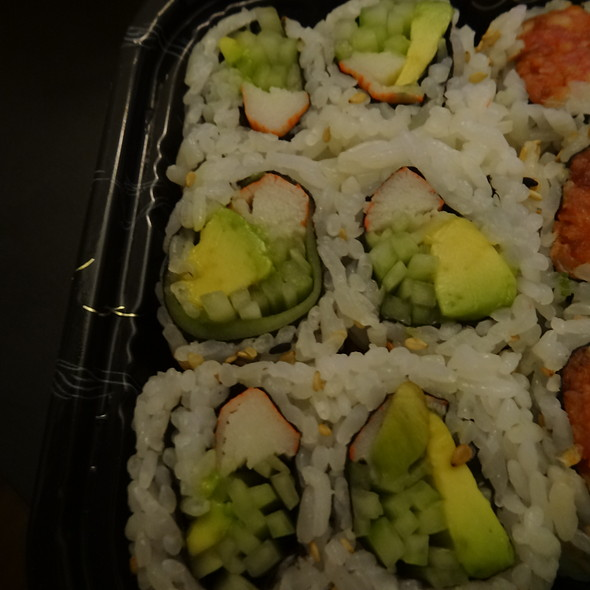 California Roll - Fuji Sushi, New York, NY