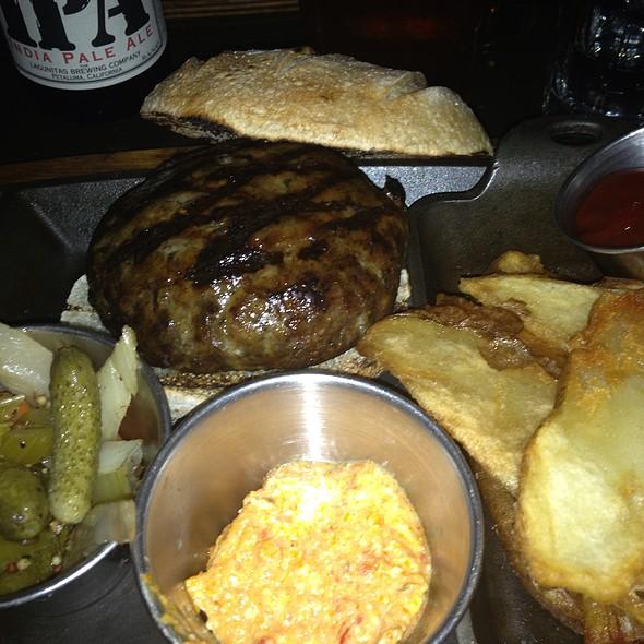Lamb Burger - MP Taverna - Irvington, Irvington, NY