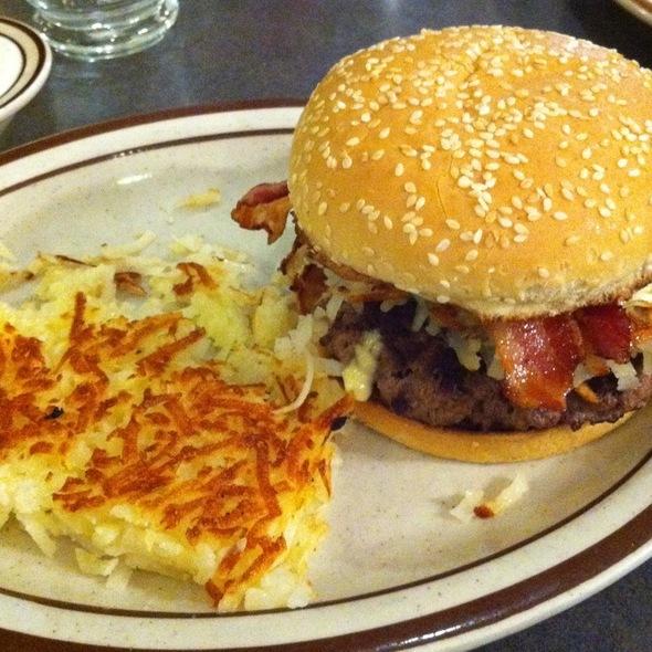 Dennys Slamburger @ Dennys