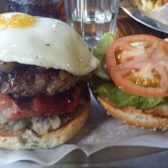 The Masterpiece @ Black Iron Burger Shop