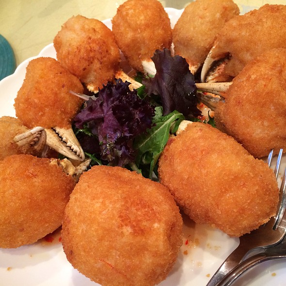 Deep Fried Crab And Shrimp Ball