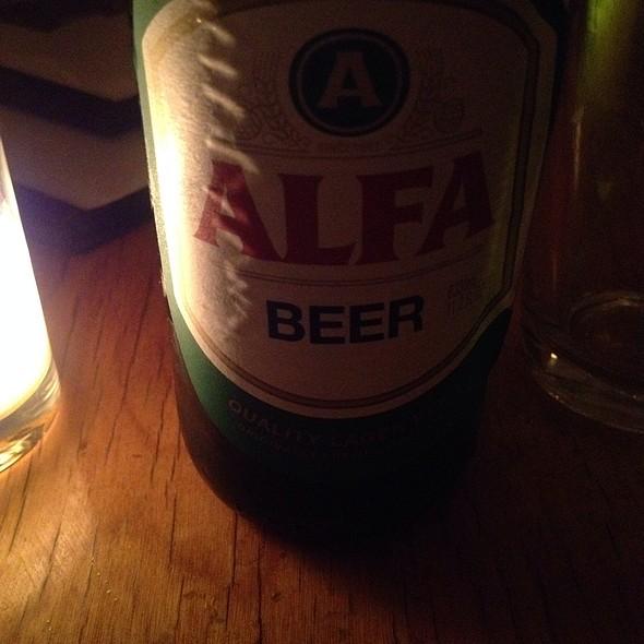 Alfa Beer - Snack Taverna, New York, NY