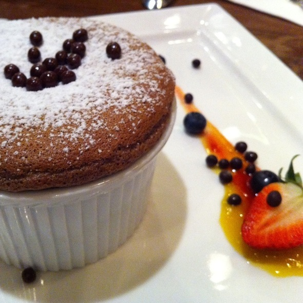 Chocolate Mocha Souffle