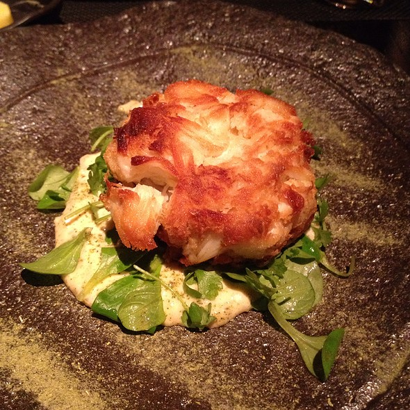 Dungeness Crabcake - Jean Georges Steakhouse - Aria, Las Vegas, NV