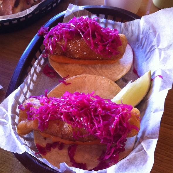 Fish Taco @ El Taco Luchador