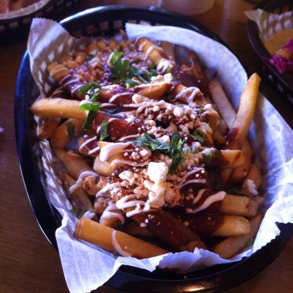 Mole Fries @ El Taco Luchador