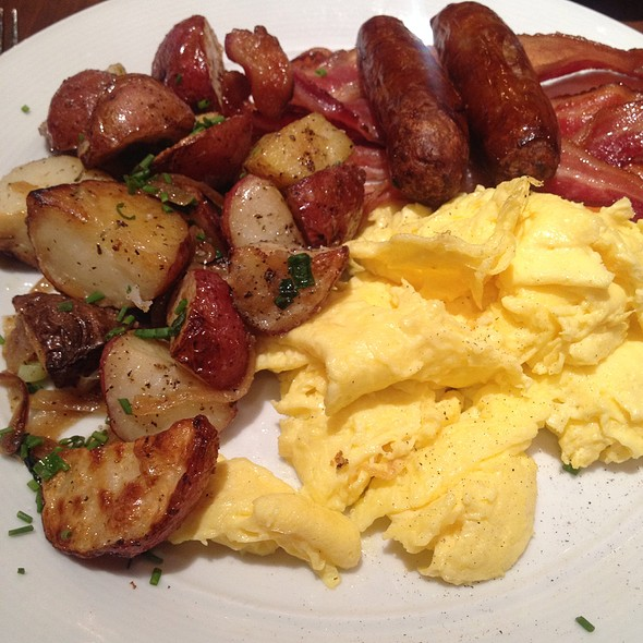 American Breakfast - Ça Va Lounge by Todd English, New York, NY