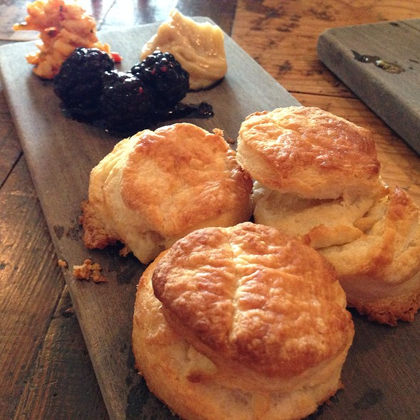 Butter Biscuits & Condiments @ The Hart and the Hunter