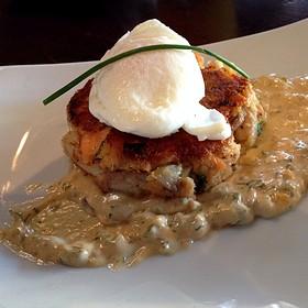 Brunch Fishcake & Poached Egg