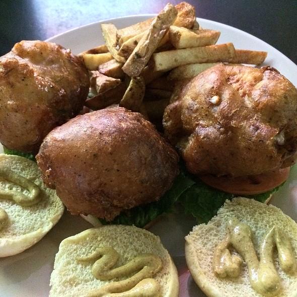 Chicken Cordon Bleu Sliders @ Liam's Irish Pub