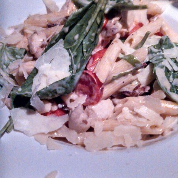Penne with Spinach & Chicken - Rhumb Line, Ventura, CA