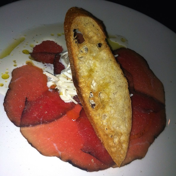Bison Bresaola, Celery Root Remoulade - Mechant Boeuf Bar & Brasserie, Montréal, QC